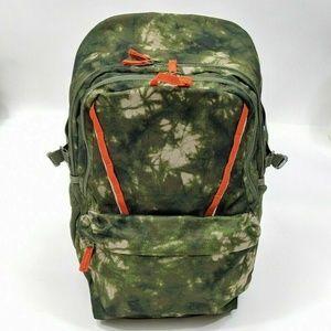 Lands' End LG ClassMate Backpack Mossy Bark TieDye